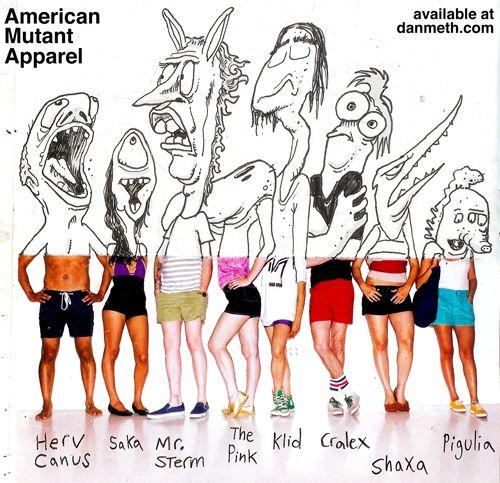 Drawing project?    danmeth:    American Mutant Apparel