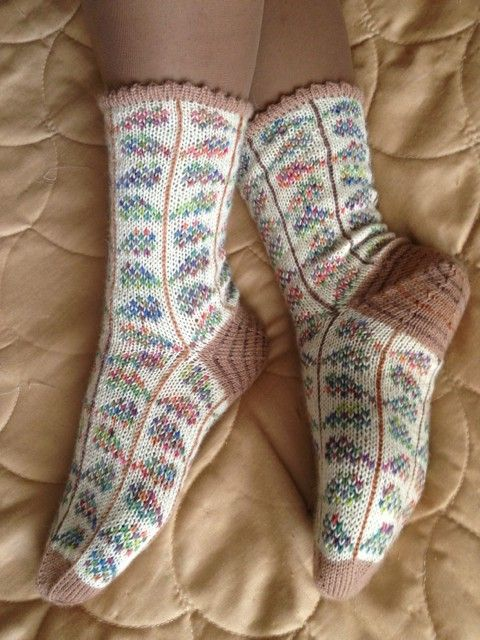 Multi-Stem socks.