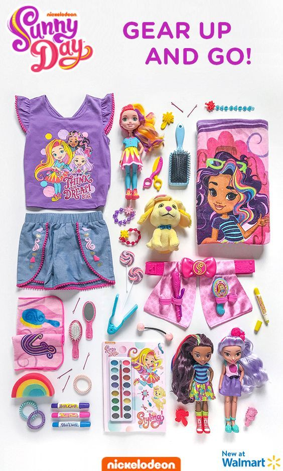 Sunny Day toys, clothing, and more for girls and boys are ...