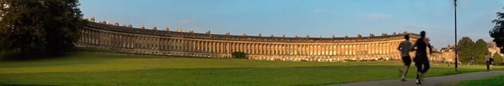Royal Crescent, Bath Actually this is cheating really, because we've already been here, several times, but we just love the place.