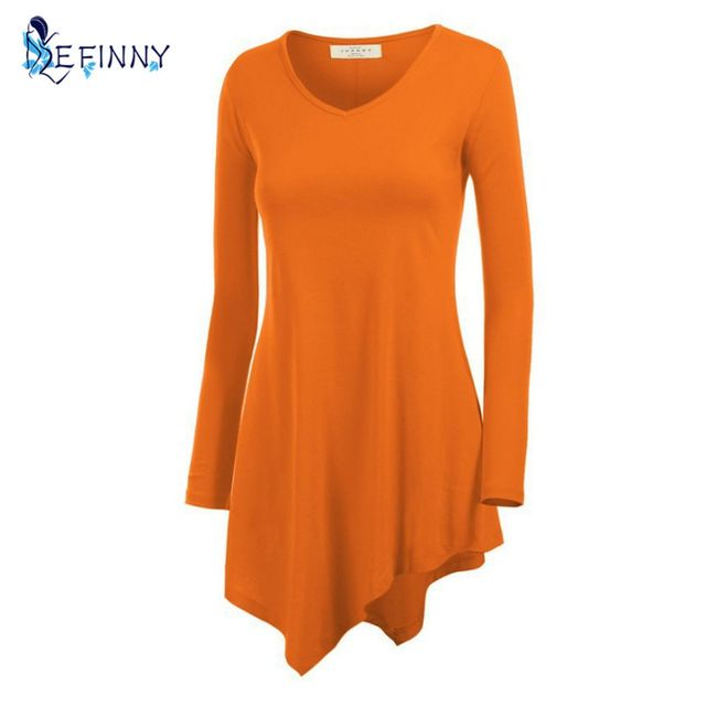 Discount Today $5.85, Buy EFINNY Fashion New Women Autumn Shirt Long Sleeve Batwing Shirt Tunic Casual T-shirt Top Black Gray,Rose,Blue,Orange