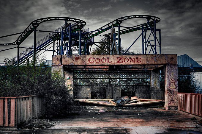 Six Flags Jazzland in New Orleans