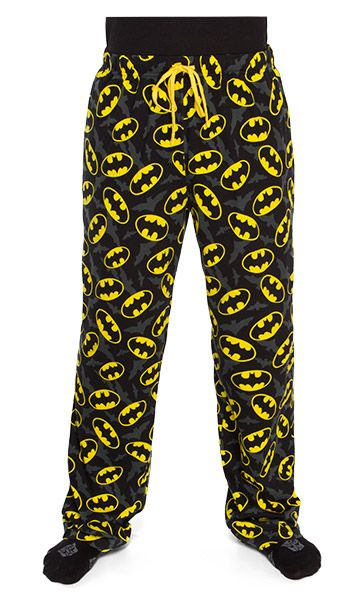 Batman Jersey Lounge Pants i need these in my life right now so i can wear them to early marching band practices