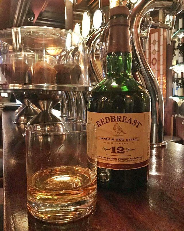 St Patricks kutlamalarına favori İrlanda viskilerimden @redbreastirishwhiskey le devam