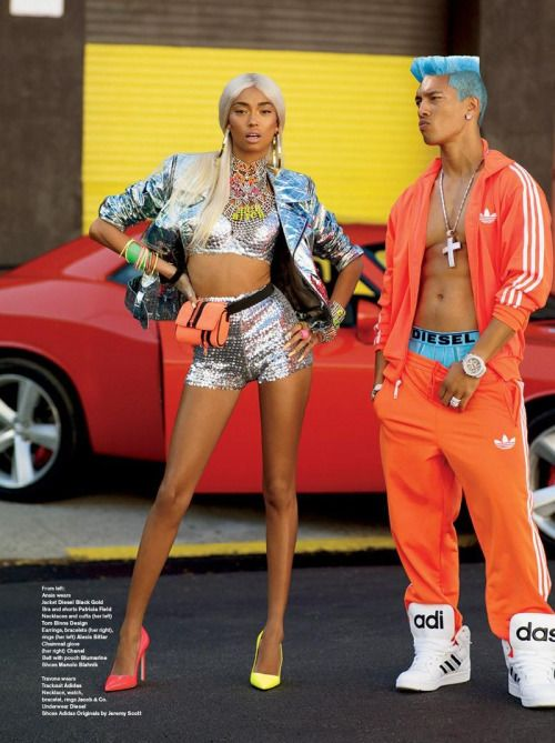 V Magazine- ghetto fabulous fashion inspired