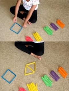 A cheap way to assess or integrate FM and visual (perceptual & motor) skills through use of a model. Would also be more FUN!