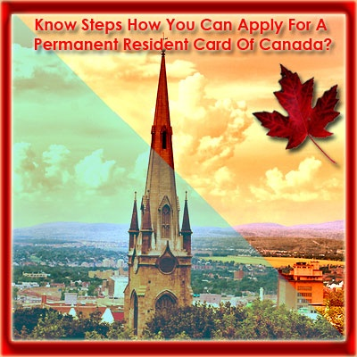 For those who are already a permanent resident of Canada, it becomes important to get a permanent resident visa card of Canada, when they along with their kids want to travel outside Canada. This card is the official proof of the residential status of a person and if you own this card then, it acts as a proof of your permanent residence status in the country.