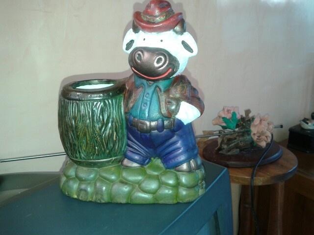 Vaquita cerámica