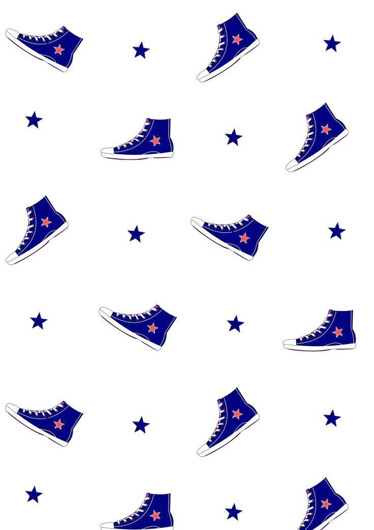 FREE printable #sneakers pattern paper | #4thOfJuly