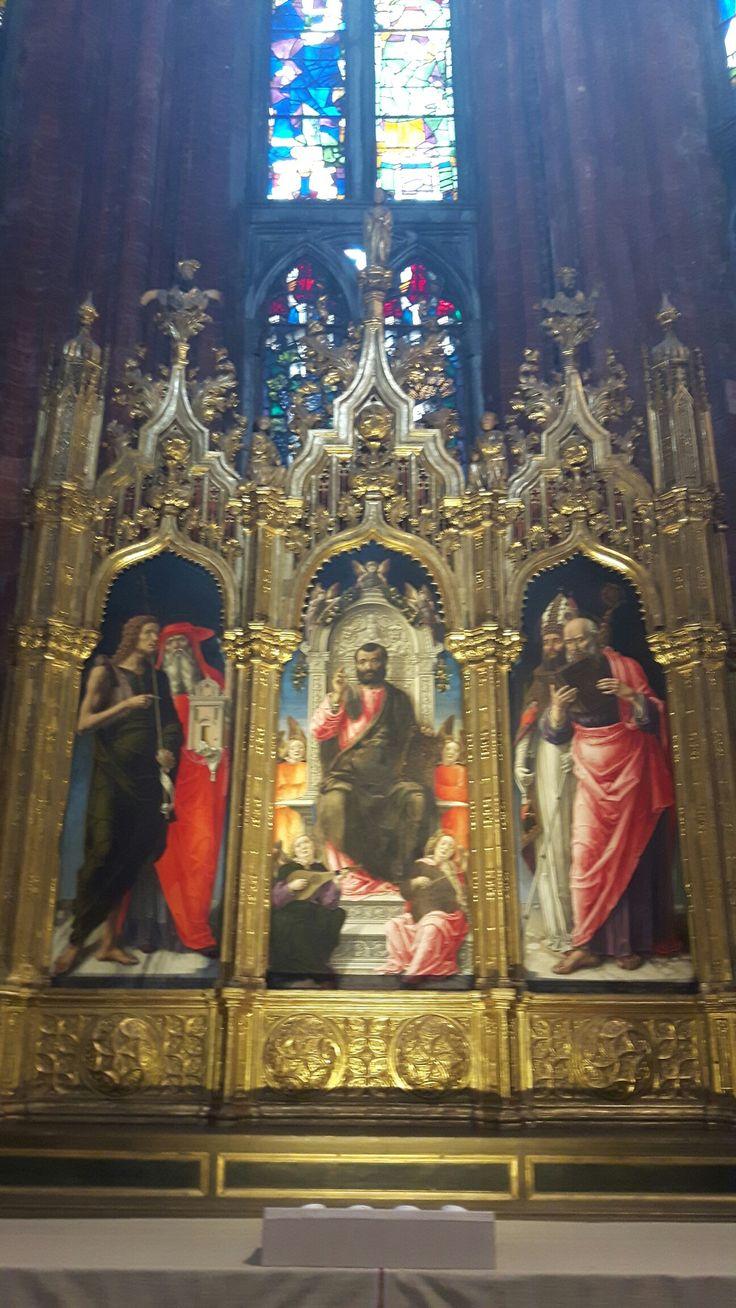 Trittico di San Marco. 1474. Basilica dei Frari