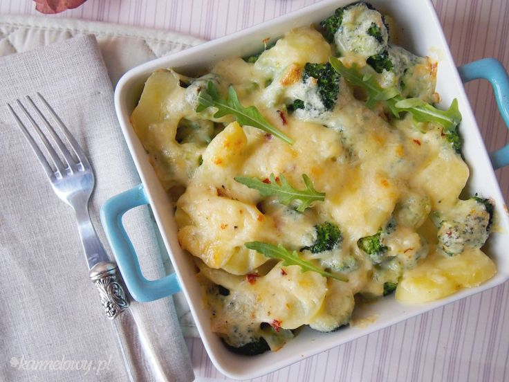 potatoes and broccoli with cheese | potato dishes | Pinterest