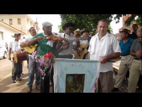 Folia de Reis de Rialma-GO no Encontro de Folias de Reis de Romaria-MG 08 jan 2012