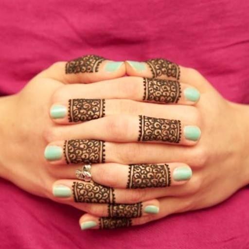 Ring Ceremony Mehndi Design : Henna designs ring makedes