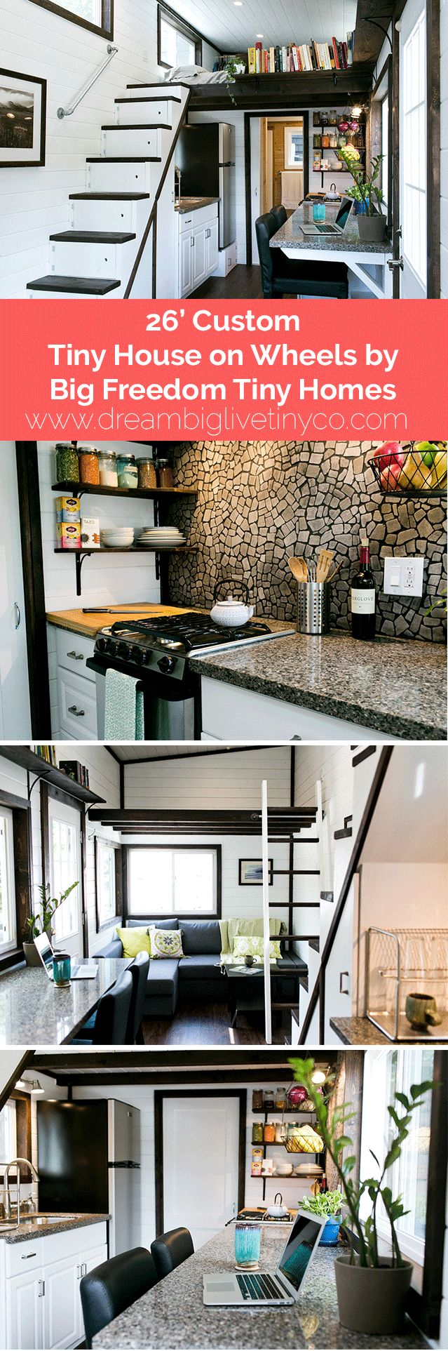 Love the black and the back splash