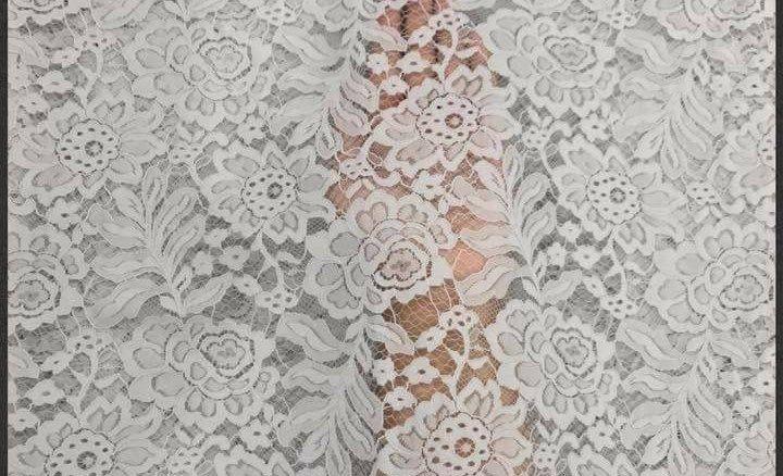 kebaya semi prancis terbaru warna putih