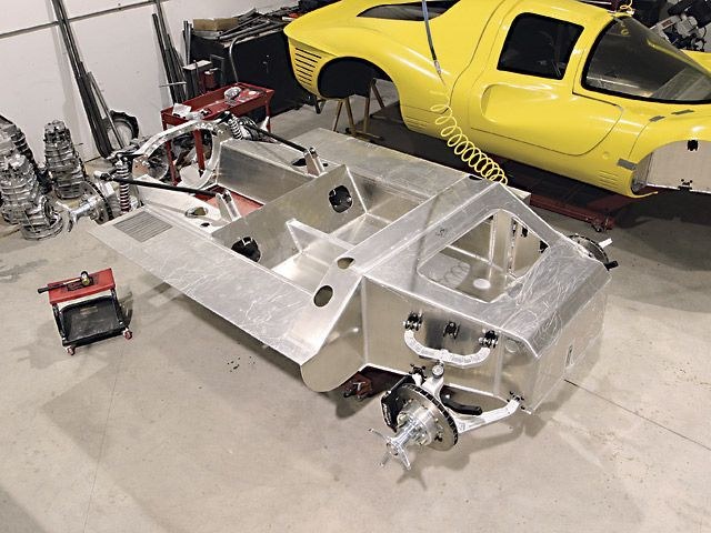 Chassis And Suspension From A Race Car Replicas Car Ethos Tl1