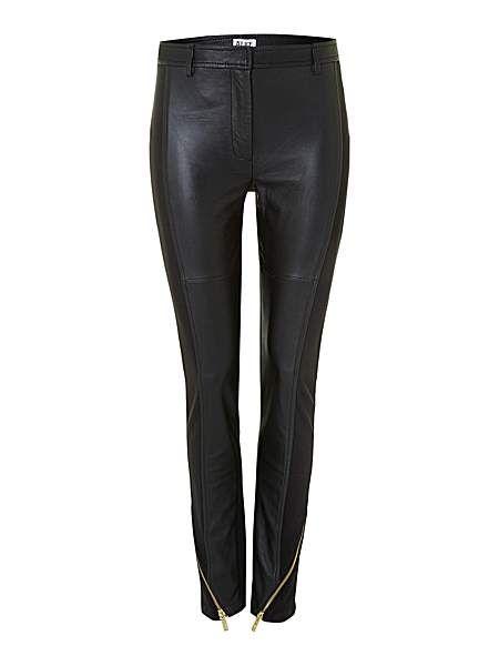 Tatami leather pants