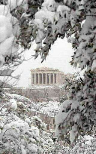 The Parthenon, 10 January 2017, Athens, Greece