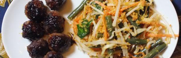 oerap oerap, Indisch groentegerecht - Kokkie Slomo - Indische recepten