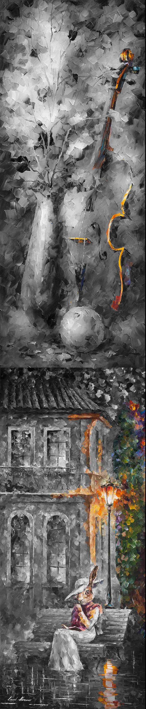 Giclee Print On Canvas By Leonid Afremov