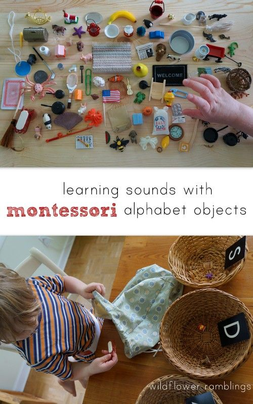learning sounds with montessori alphabet objects {plus giveaway of complete 100…