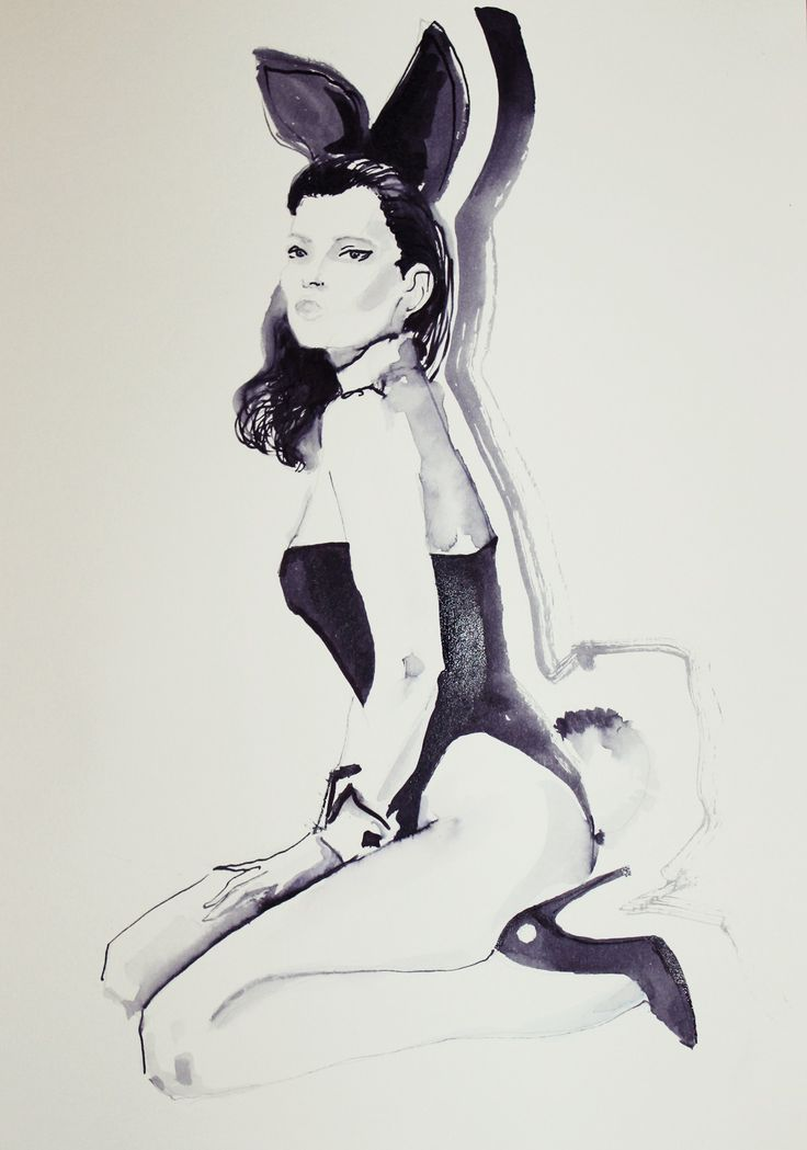 #katemoss#playboy#fashionillustration#fashion#fashionbook#sketch#fashionsketch#drawing#ink#painting#art#artpiece#artist#fashionillustrator#workart#workinprogress#instaart#instafashion#fashiondraw#dailyart#ladyterezie#lublin#hot#bunny#polishart#bunnyears#pencil