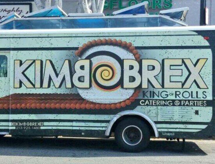 The Definitive LA Food Truck Guide | Sushi burrito, Food ...