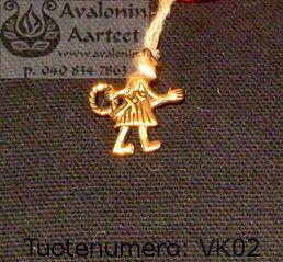 Viking age jewel, bronze: Andarve / Viikinkiajan pronssikoru: Andarve
