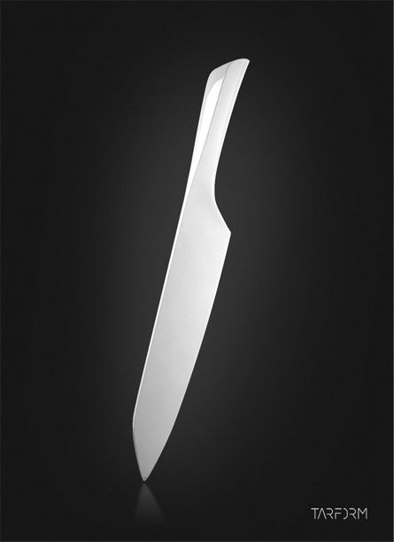Refined Chef´s Knife by Taras Kravtchouk, via Behance
