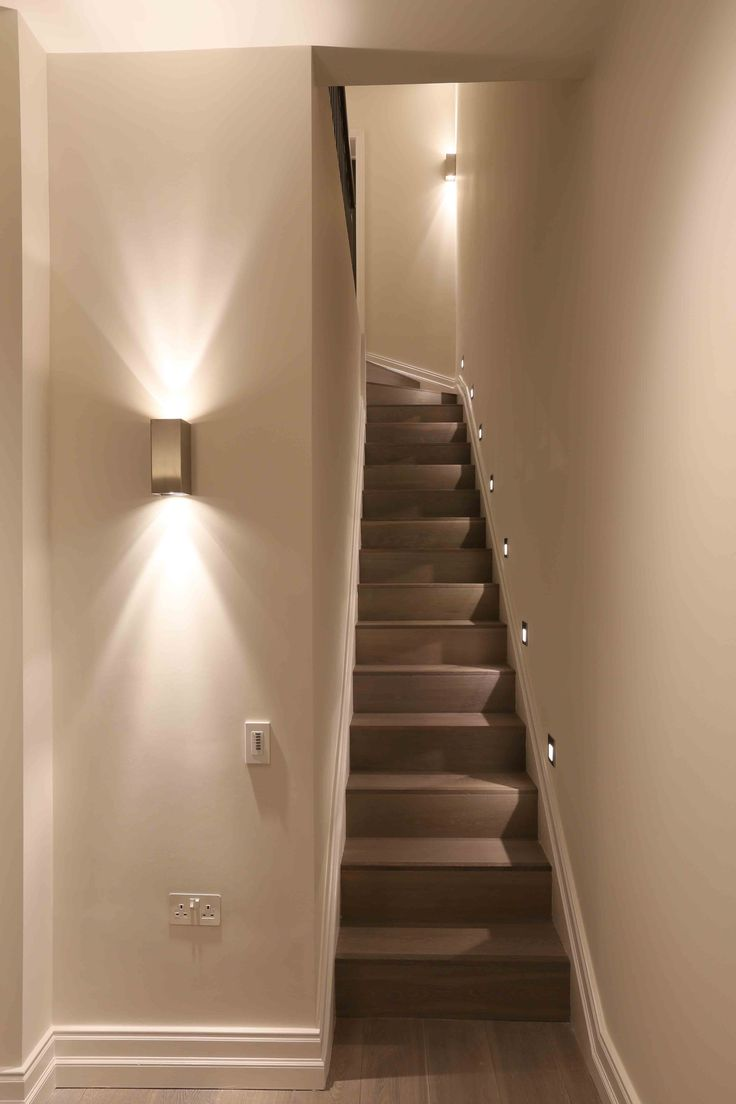 lighting for staircase. staircase lighting design by john cullen for n