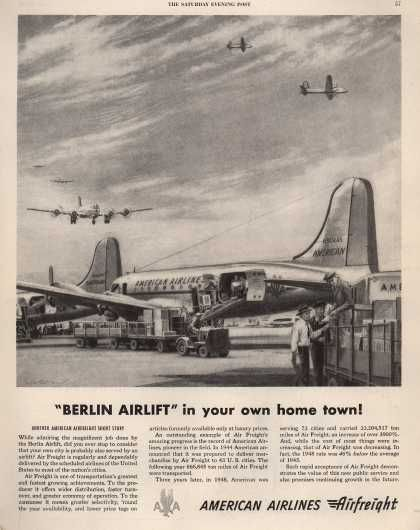 "American Airlines – ""Berlin Airlift"" in Your Own Home Town (1949)"