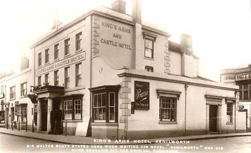 The Kings Arms Hotel, now Zizzi and Ego, Kenilworth