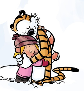 Further adventures of Hobbes with Calvin's daughter, Bacon. --I so love Calvin and Hobbes, these are pretty good.