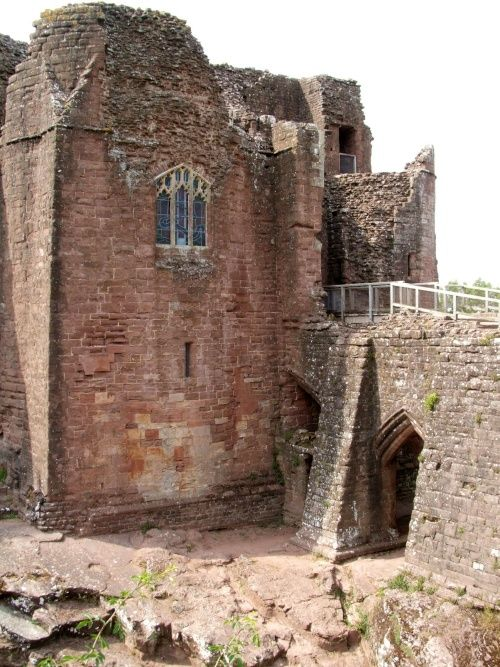 Goodrich Castle, Herefordshire, England