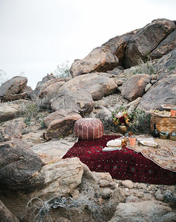 Bohemian desert decor