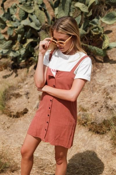 Reverse Venture Button Up Dress • Shop American Threads Women's Trendy Online Boutique – americanthreads