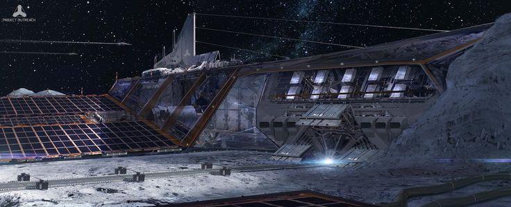 Lunar Base 2 by simonfetscher.deviantart.com on @deviantART