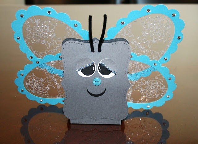 Stampin' Up!  Top Note Butterfly  Gilda Fellows: Note Boxes, Note Butterflies, Butterflies Gilda, Cards Su Tops, Note Die, Note Cards, Butterflies Tops, Note Ideas, Cards Tops Note