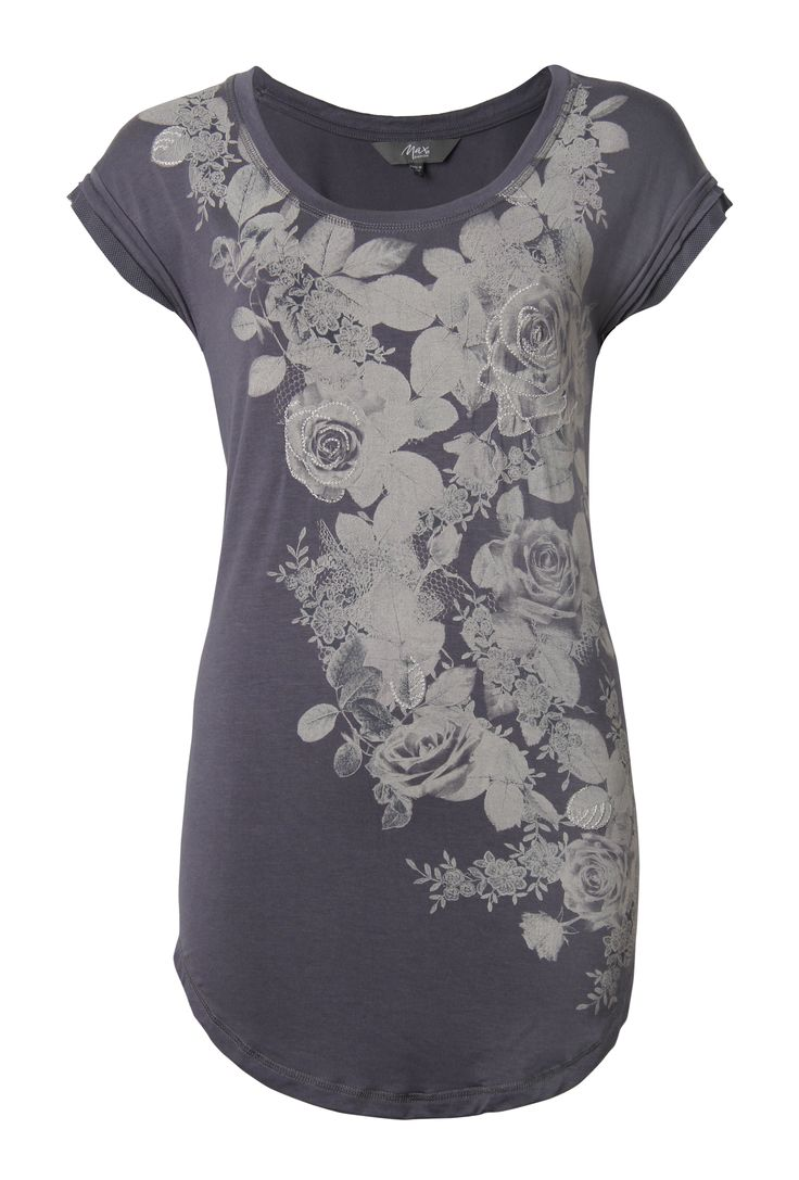 Max - Roses Embellished Tee $69.00