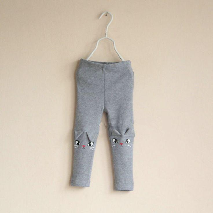 2013 осень внешней торговли хлопок дети детские модели J финишную прямую леггинсы упругие талии брюки маленькие кошачьи лапы - Taobao