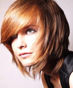 STEVEN CAREY Mittel Braun weiblich Gerade Farbige Multi-tonalen Frauen Frisuren - Trend Frisuren