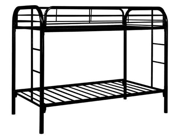 cool metal bunk beds - Twin Bunk Bed Frame