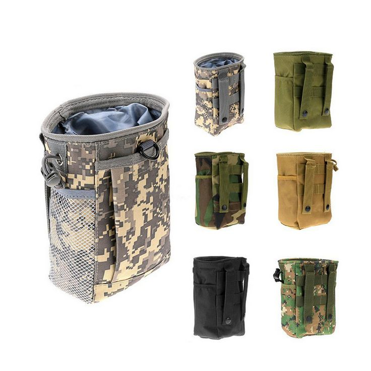B46 Molle camouflage cavalry tactics recreational sports bag waterproof climbing bag small debris collection bag