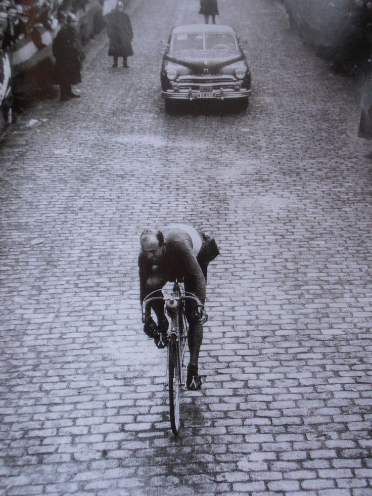 Fiorenzo Magni - 'un Grande Campione con la sfortuna di essere nato assieme a Fausto Coppi e Gino Bartali' - a Grand Champion with the misfortune to be born together with Fausto Coppi and Gino Bartali. RIP. S)
