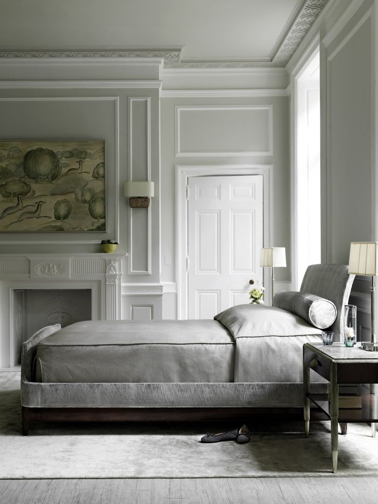 Absolute Luxury In A Bedroom With The Gracie Bed Designed By Bill