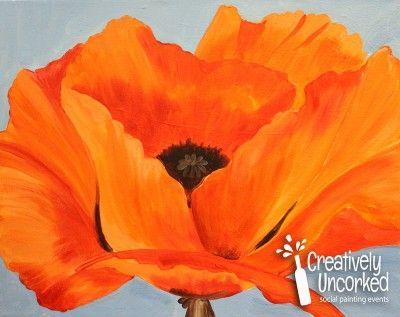 O'Keefe Poppy | Creatively Uncorked | http://creativelyuncorked.com