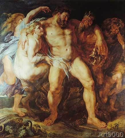 Peter Paul Rubens - P. P. Rubens / The drunken Hercules