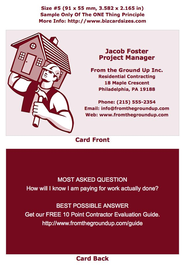 9 best Business Cards -- Size #5 images on Pinterest | Business card ...