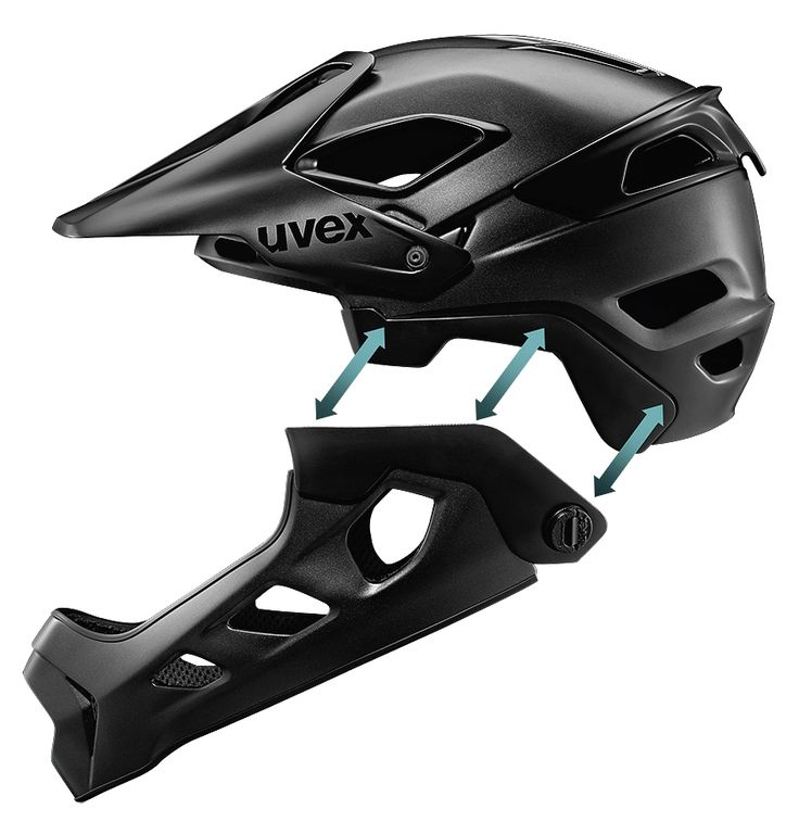 from half shell to full face // New uvex jakkyl hde combines two disciplines – All Mountain and downhill – in one product. And opens fresh trails for new possibilities.