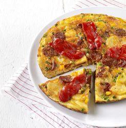 Tortilla met chorizo Recept » Colruyt Culinair